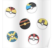 Poke Balls Poster