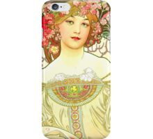 Alphonse Mucha - Rêverie iPhone Case/Skin