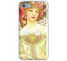 Alphonse Mucha - Rêverie iPhone Case/Skin