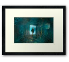 The tunnel . . . Part 2.   Framed Print
