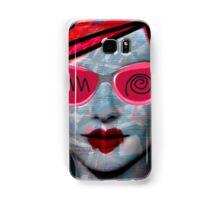 Cardboard Pink Girl Samsung Galaxy Case/Skin