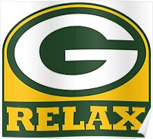 Packers Relax Poster