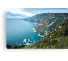 Slieve League sea cliffs in Co. Donegal Canvas Print