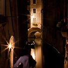 Softly Lit Canal by vividpeach