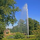 Centenary Fountain, Forde Abbey by RedHillDigital