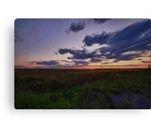 HDR Sundown Canvas Print