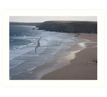 Wings over Watergate Bay Art Print