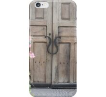 Beyond these doors... iPhone Case/Skin