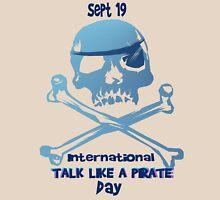 Talk Like A Pirate Crossbones Unisex T-Shirt