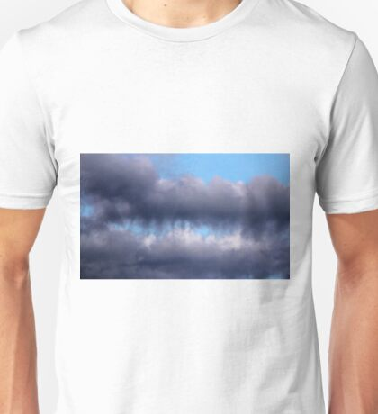 Teeth Biting Clouds Unisex T-Shirt