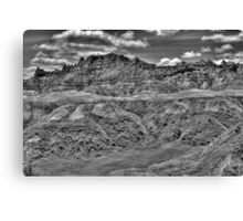 Dramatic Range Canvas Print