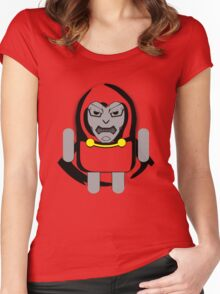 DoomDROID (basic screened variant) Women's Fitted Scoop T-Shirt