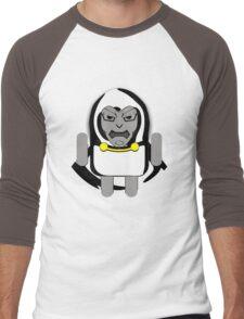 DoomDROID (basic screened variant) Men's Baseball ¾ T-Shirt