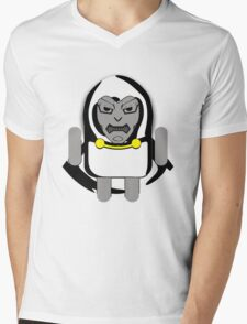 DoomDROID (basic screened variant) Mens V-Neck T-Shirt