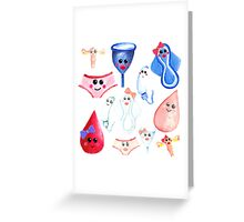 The Cutest Time of the Month Greeting Card