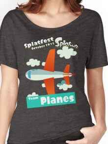 Splatfest Team Planes v.1 Women's Relaxed Fit T-Shirt