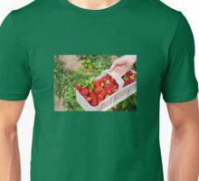 Plenty ripe strawberries Unisex T-Shirt
