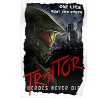 Halo 5 Guardians - Traitor Poster