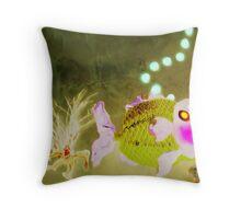 Percy's mate, Norberta Throw Pillow