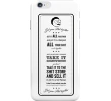 GET YOUR SHIT TOGETHER! iPhone Case/Skin