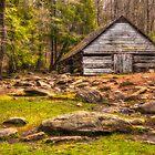 Ogle barn near Roaring Fork by JHRphotoART