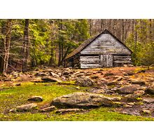 Ogle barn near Roaring Fork Photographic Print