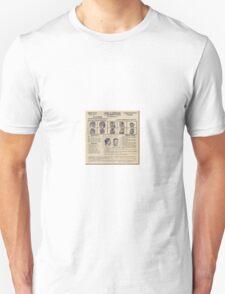 Clyde Barrow Wanted Unisex T-Shirt