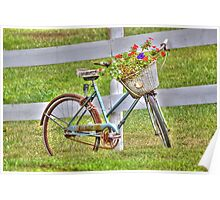 A Basket Full of Flowers Poster