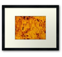 Cell Blocks Framed Print