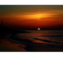 Let The Sun Set Photographic Print