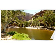 Ormiston Gorge, West MacDonnell Ranges, Alice Springs Poster