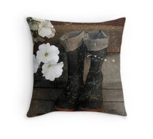 Beauty and the Beast 4 Throw Pillow