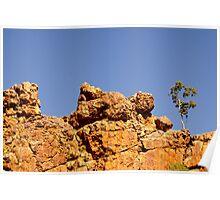 West MacDonnell Ranges, Alice Springs Poster