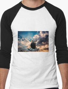 Helicopter Men's Baseball ¾ T-Shirt