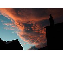 falling cloud Photographic Print