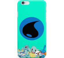 Water Type Starters iPhone Case/Skin