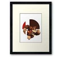 I Main Donkey Kong Framed Print