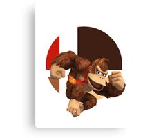 I Main Donkey Kong Canvas Print