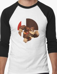 I Main Donkey Kong Men's Baseball ¾ T-Shirt