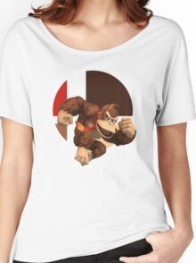 I Main Donkey Kong Women's Relaxed Fit T-Shirt