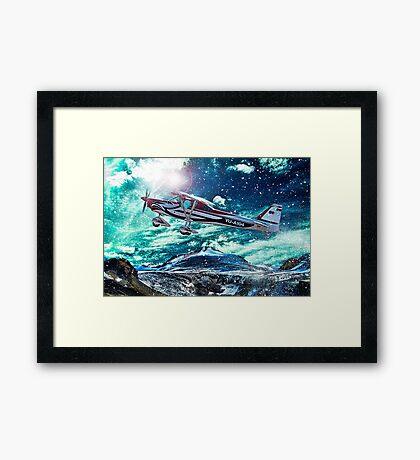 Sport plane Framed Print