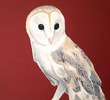 Tyto alba by Plumicorns