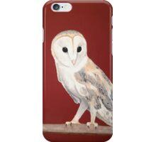 Tyto alba iPhone Case/Skin