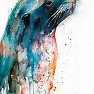 Sea lion by Slaveika Aladjova