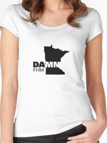Apathetic State Advertising - Minnesota Women's Fitted Scoop T-Shirt