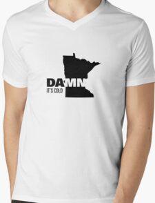 Apathetic State Advertising - Minnesota Mens V-Neck T-Shirt
