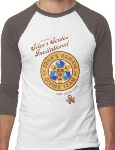 Silver Scales Invitational Men's Baseball ¾ T-Shirt