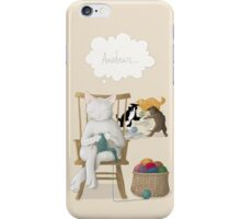 Of Cats and Yarn iPhone Case/Skin