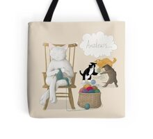 Of Cats and Yarn Tote Bag