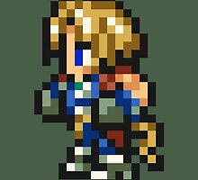 Zidane Tribal sprite - FFRK - Final Fantasy IX (FF9) by Deezer509